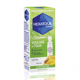 Hexatoux Spray goût miel - 30ml