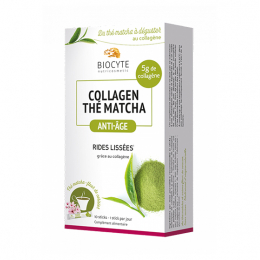 Biocyte Collagen Thé matcha anti-âge - 10 sticks