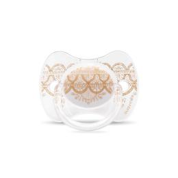 Suavinex Couture sucette réversible Silicone 4/18M