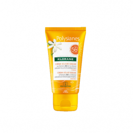Klorane Polysianes crème solaire sublime SPF50+ - 50ml