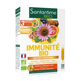 Santarome immunité BIO défenses immunitaires - 20 ampoules