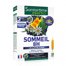 Santarome Phyto sommeil 8H - 20 ampoules