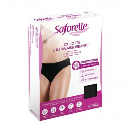 Saforelle Culotte ultra absorbante Taille 34-36 - x1