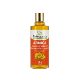 Natessance huile arnica massage musculaire - 100ml