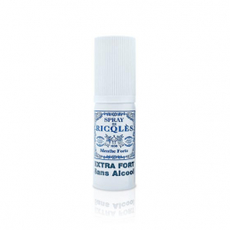 Ricqles Spray buccal menthe forte sans alcool - 15ml