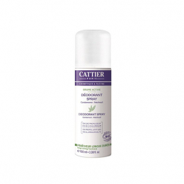 Cattier déodorant spray bio - 100ml