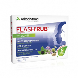 Arkopharma Flash'Rub - 15 comprimés