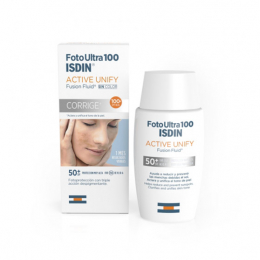 Isdin FotoUltra active unify spf50+ - 50 ml