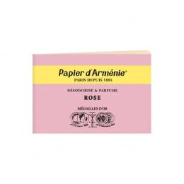 Carnet papier d'Arménie Rose