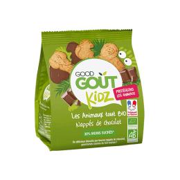 Good Gout Les animaux tout BIO nappés de chocolat - 120g