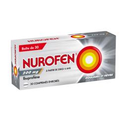 Nurofen 200mg - 30 comprimés enrobés