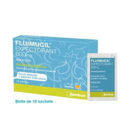 Fluimucil Expectorant 600mg - 10 sachets
