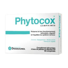 Dissolvurol Phytocox - 60 comprimés