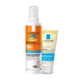 La Roche-Posay Anthelios Dermo-Pediatrics Spray Invisible SPF50+ Sans Parfum 200ml + Huile Lavante Lipikar 100ml OFFERTE