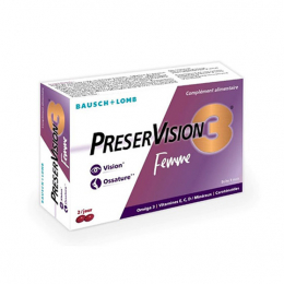 Bausch + Lomb PreserVision3 Femme - 60 capsules
