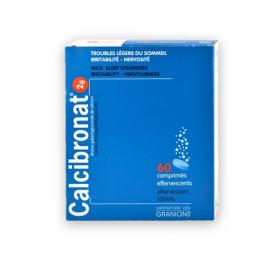 Granions Calcibronat 2g - 60 comprimés effervescents