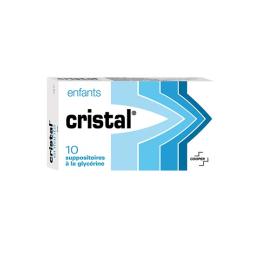 Cristal Suppositoire enfant - 10 suppositoires