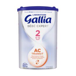 Gallia AC Transit 2 6-12 mois - 800g