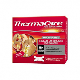 ThermaCare Patch Auto-Chauffant 8h Multi-Zones - 3 Patchs