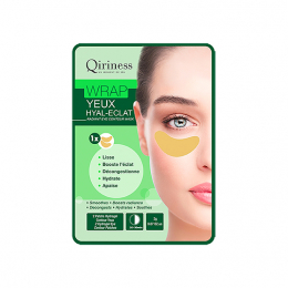 Qiriness Wraps booster Wrap yeux hyal-éclat Patchs yeux éclat - 2g