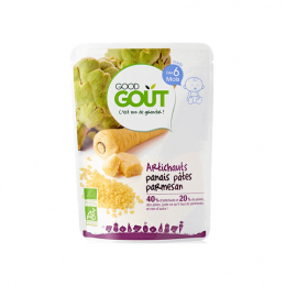 Good Gout Plat BIO artichauts panais pâtes parmesan - 190g
