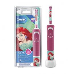 Oral-B Brosse à dents électrique kids stages power la petite sirène 3 ans et +