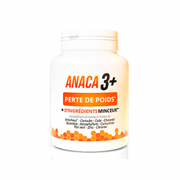 Anaca 3+ Perte de poids - 120 gélules