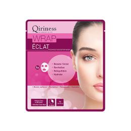 Qiriness Wraps booster Wrap éclat Masque microfibre éclat - 30g