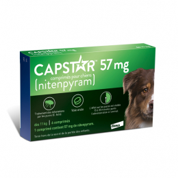 Capstar Grand chien 57mg - 6 comprimés