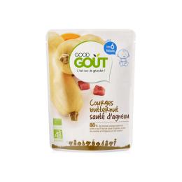 Good Gout Plat BIO Courges butternut sauté d'agneau - 190g
