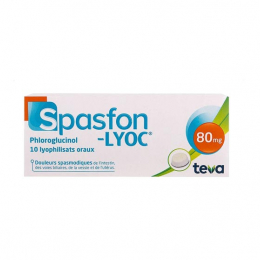 Spasfon Lyoc 80 mg - 10 comprimés