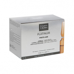 Martiderm Platinum photo âge - 30 ampoules