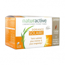 Naturactive Doriance solaire - 2x30 capsules + collier OFFERT
