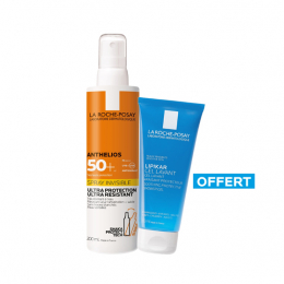 La Roche Posay Anthelios spray invisible SPF50+ - 200ml + Gel lavant 100ml