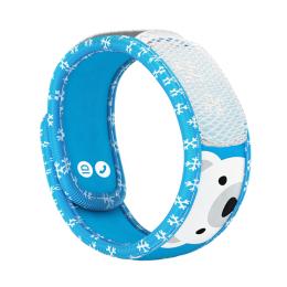 Para'kito Kids Bracelet anti-moustique + 2 recharges - Bracelet polar bear