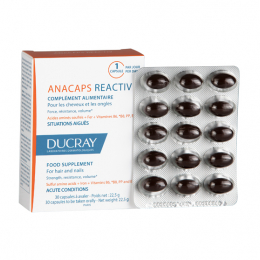 Ducray anacaps reactiv - 30 capsules