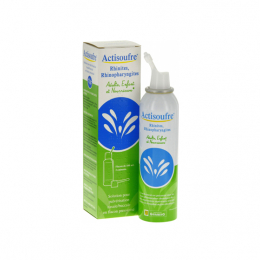 Actisoufre rhinites, rhinopharyngites solution pour pulvérisation nasale/buccale - 100ml