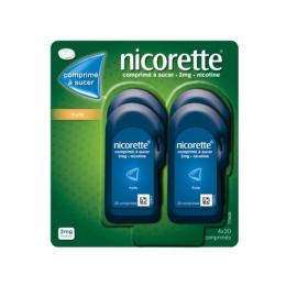 Nicorette Comprimé à sucer 2mg Fruits - 80 comprimés