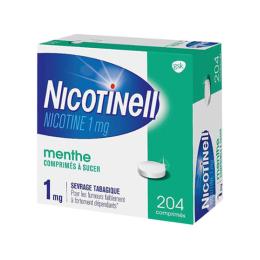 Nicotinell 1mg Menthe - 204 comprimés à sucer