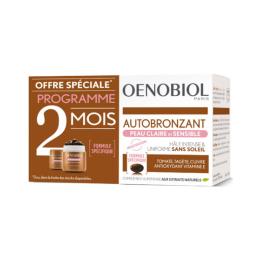 Oenobiol Autobronzant Peau claire et sensible - 2x30 capsules