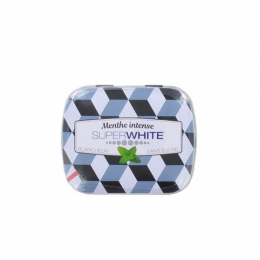 Superwhite Menthe intense - 50 pastilles