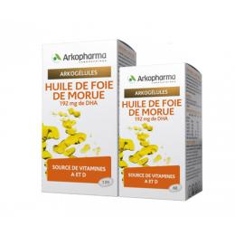Arkopharma Arkogélules Huile de foie de morue - 120 gélules + 60 OFFERTES