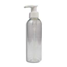 Haut-ségala Flacon PET transparent avec capsule service blanche - 200ml