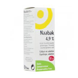 Thea Naabak 4,9% Collyre - 10ml