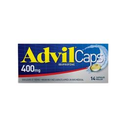 Advilcaps 400mg - 14 Capsules Molles