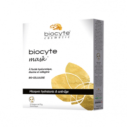 Biocyte Mask masque hydratant & anti-âge – x4