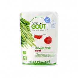 Good Gout Plat BIO Haricots verts boeuf  - 190g