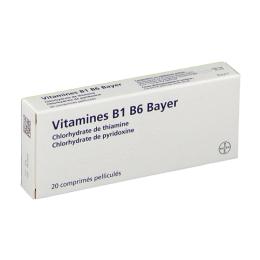 Bayer Vitamines B1 B6 Bayer - 40 comprimés
