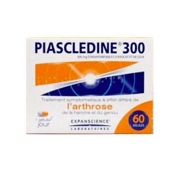 Piascledine arthrose 300mg - 60 gélules