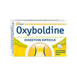 Cooper Oxyboldine - 24 comprimés effervescents